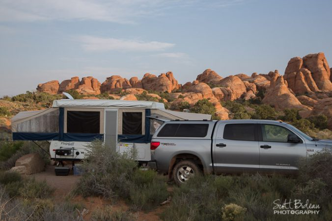 Arches National Park campground
