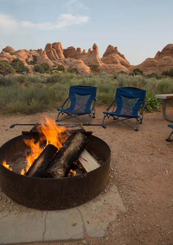 Devil's Campground, Arches National Park