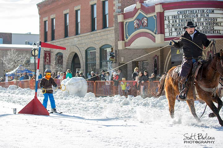 Ring & Spear - 104th Annual Steamboat Springs Winter Carnival