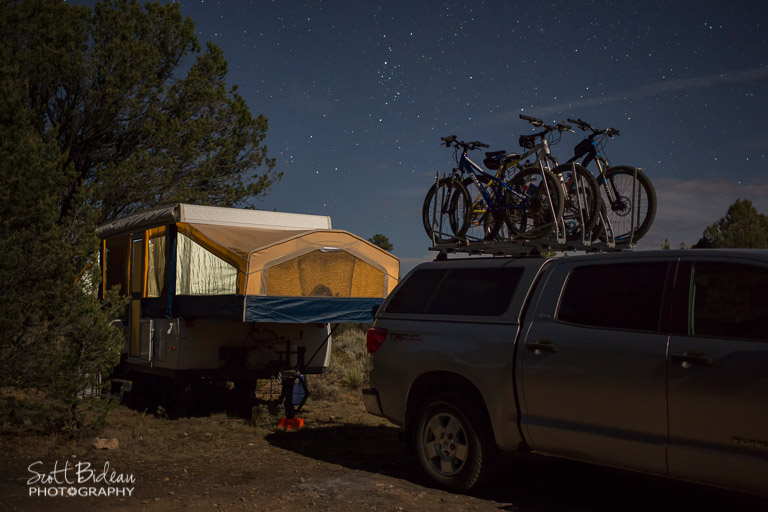Boondocking just outside Grand Canyon National Park