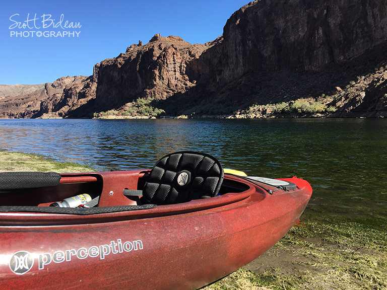 kayaking Colorado River Black Canyon